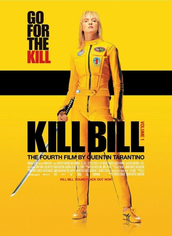 Kill Bill movie poster - love love love this movie. Have the whistle song as a ringtone on my iPhone