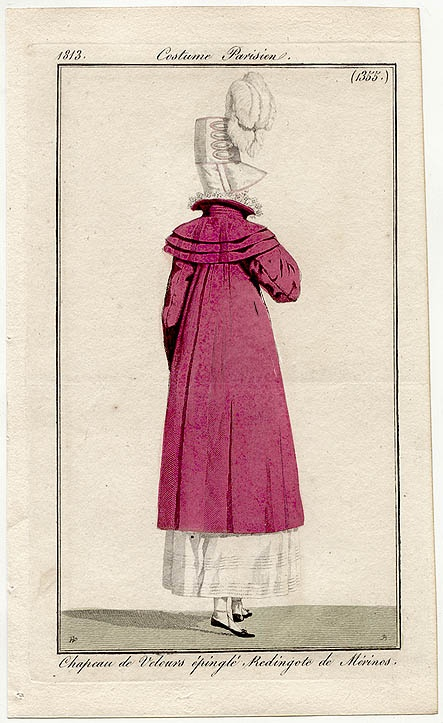 Costume Parisien (1355), 1813.