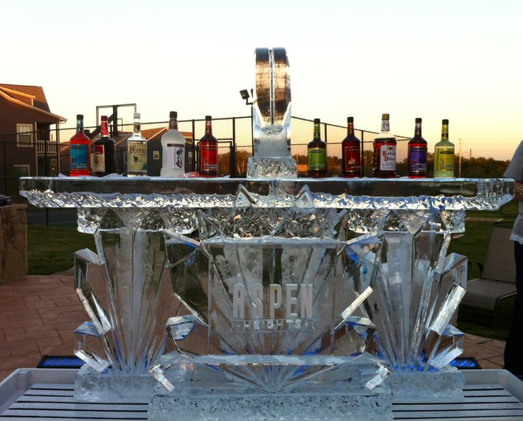 Aspen heights monogram full ice bar full spectrum ice for Food bar in cahaba heights
