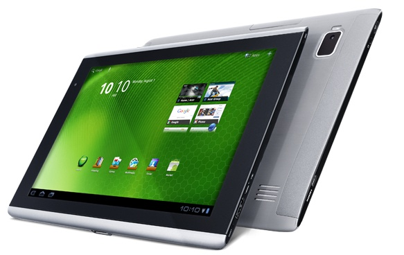 The Acer Iconia Tab A500