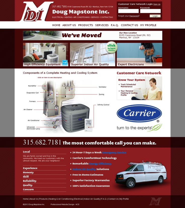 Home Improvement Website Design, March 2011. Designed By ACS Www.acs Web
