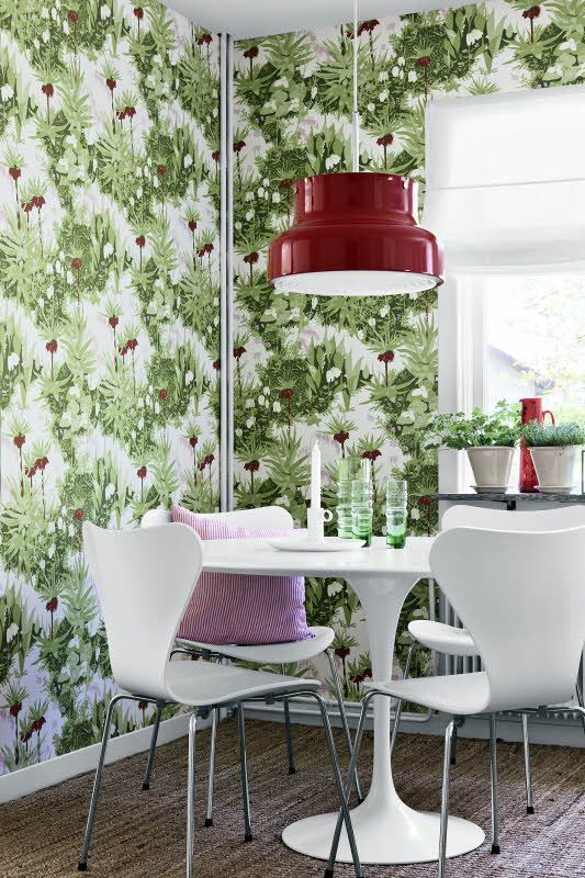 55 best Tapeten images on Pinterest Wallpaper designs, Designer - farbgestaltung fur schlafzimmer das geheimnisvolle lila