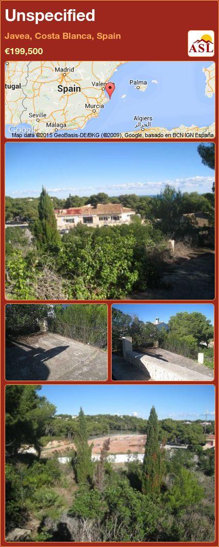 Unspecified in Javea, Costa Blanca, Spain ►€199,500 #PropertyForSaleInSpain