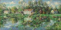 Maisons Dans Le Marais Poitevin par Jean François Bourgeat