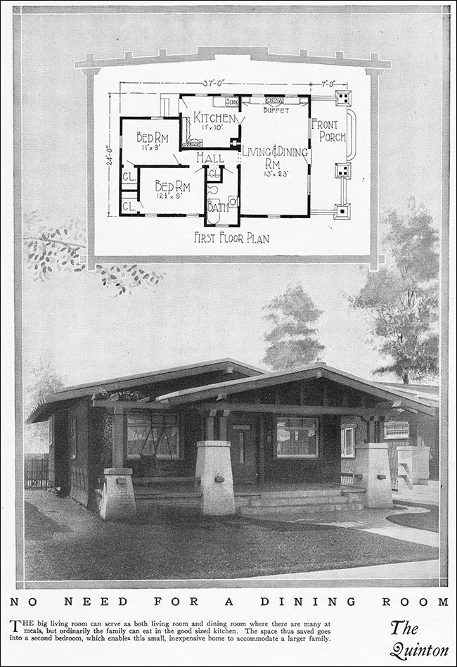 17 best images about mid 20th century on pinterest house for 1925 bungalow floor plan