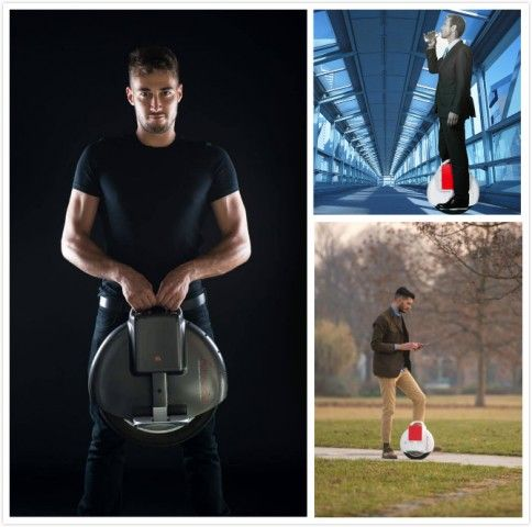 Enriching university life with Intelligent Airwheel self-balancing unicycle