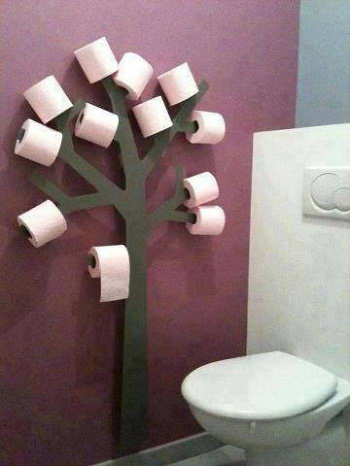 Wow, leuk idee voor op het toilet!