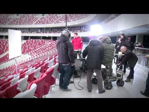 Robert Lewandowski gościł na Stadionie nie tylko podczas meczów :-) #Lewandowski