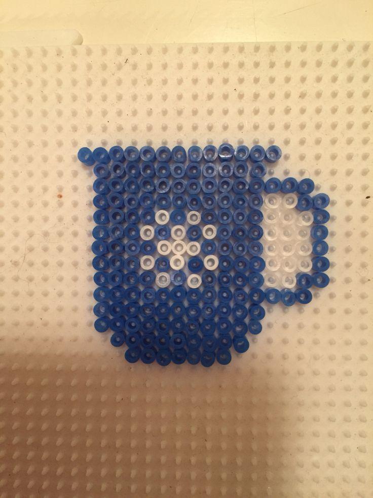 Madam blå krus Made by Sisse Nielsen