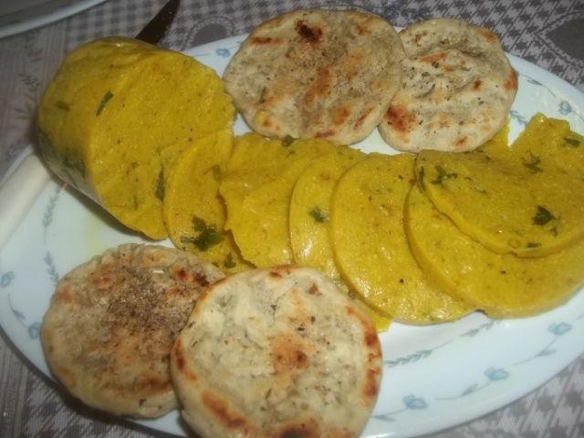 yellow veg salami (fagioli cannellini lessati 40 g di tofu affumicato