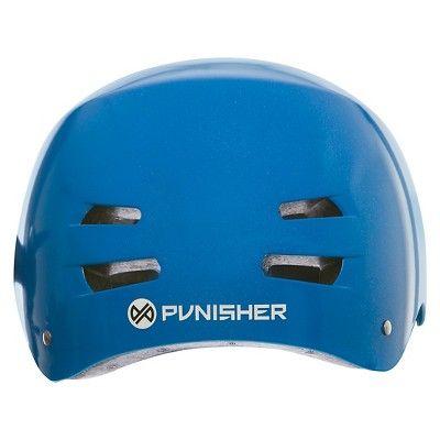 Punisher Skateboards Skateboard Helmet Blue
