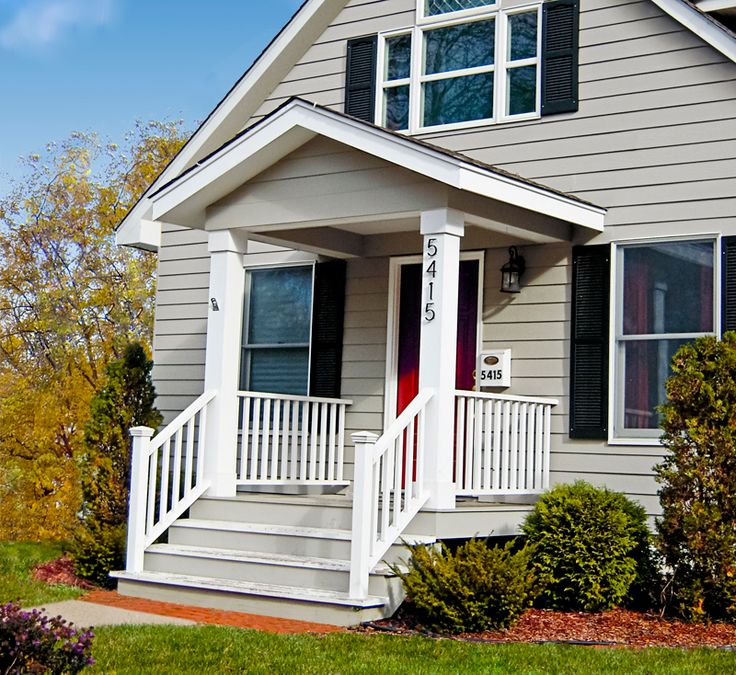 Front Porch Ideas For Flat Front Houses Dream Home