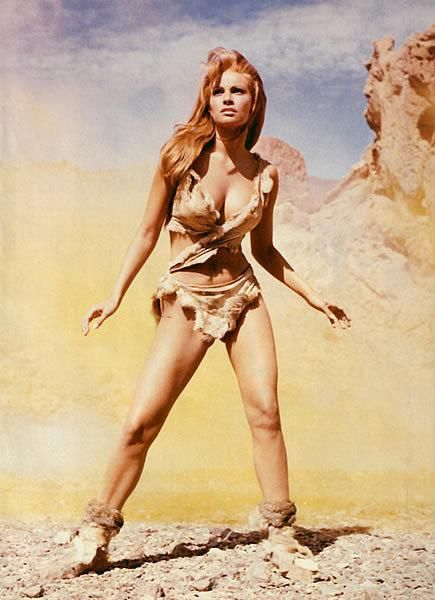 Raquel Welch In Her Sexy Cavewoman Costume