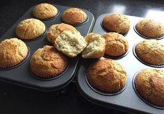 Tarwevrije citroen-maanzaad muffins