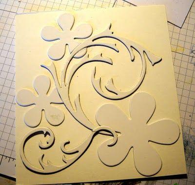 make you own embossing folder