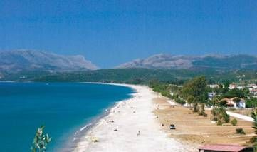 Mavrovouni beach in Gytheio #discover_Peloponnese #Greece discover-peloponnese.com