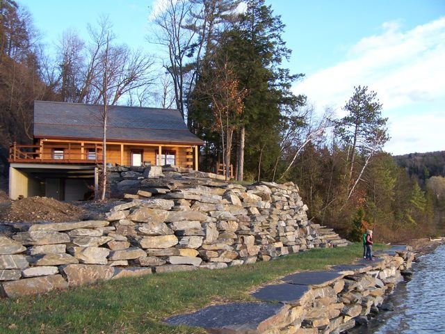 1000 images about log cabin homes on pinterest lakes Log homes in new hampshire
