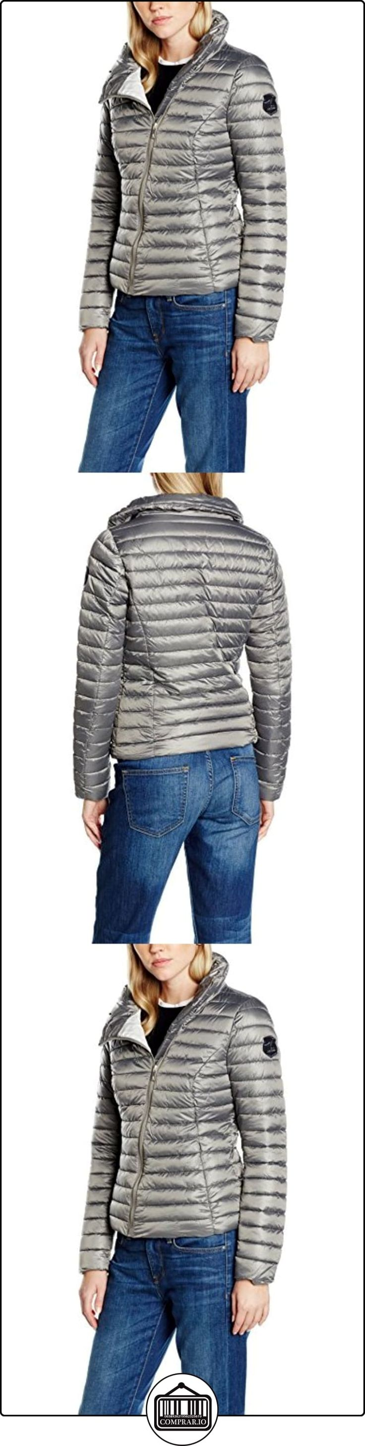 LPB Woman W167803, Impermeable para Mujer, Gris (Perle), Medium  ✿ Abrigos y chaquetas ✿