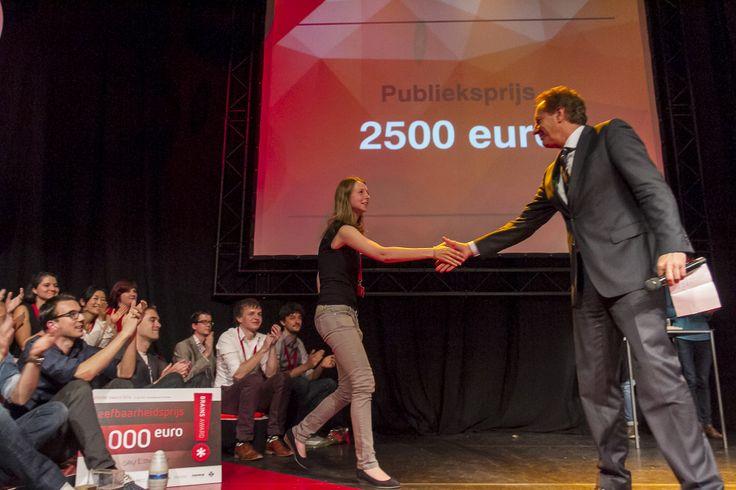 Publieksprijs: Anouk Kauffeld