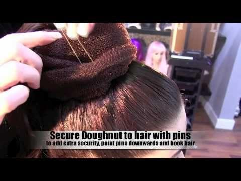 Audrey Hepburn hairstyle 3 minute tutorial - YouTube