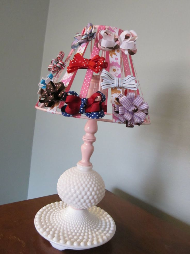 Would this be the thing that gets the girls to put their hair bows away?  We have the perfect lamp to try it out.