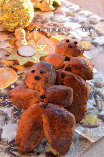 Fromage ou Dessert ? Dessert !!!: Bonhommes en brioche ou Brioche Nanterre, aux zestes d'agrumes (IG bas - Phase 2)