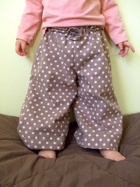 Homemade Pajama Bottoms