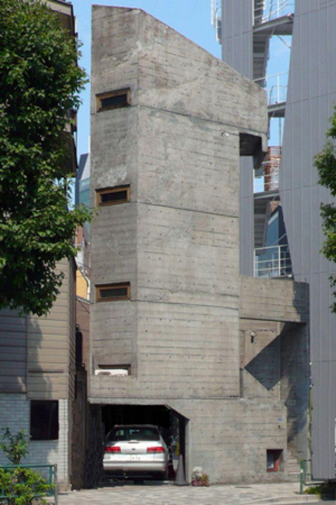 キラー通りに佇む「塔の家」は狭小住宅のマスターピース