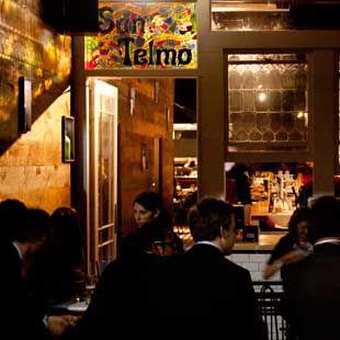 Argentinian feel at San Telmo, Meyers Place, Melbourne CBD.