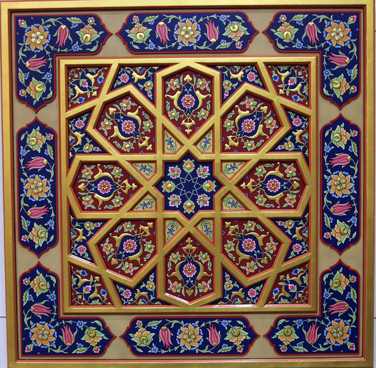 Turkish architecture ceiling decorations