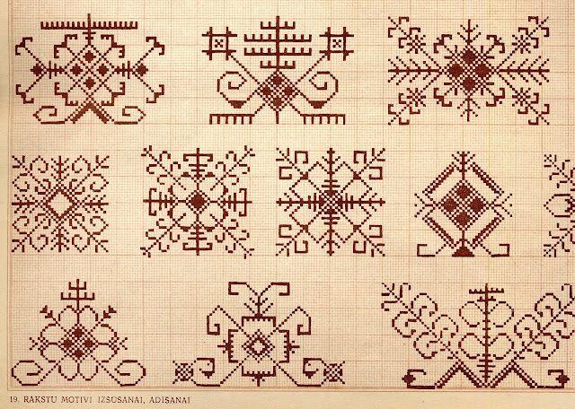 Folk Costume & Embroidery Latvia