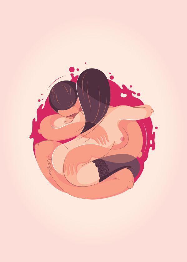 The Lovers by Antonio Sortino