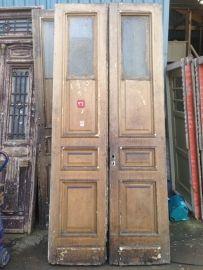 nr. set305 antieke hoge deuren   Dubbele deuren, setjes kastdeuren   Oudedeur - paneeldeuren :