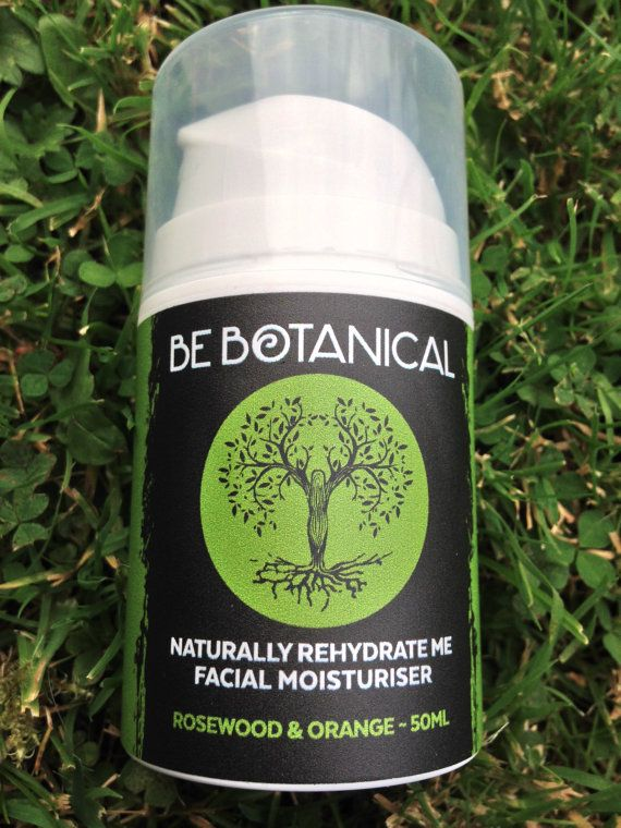 Rosewood & Orange Be Botanical Naturally Rehydrate Me Facial