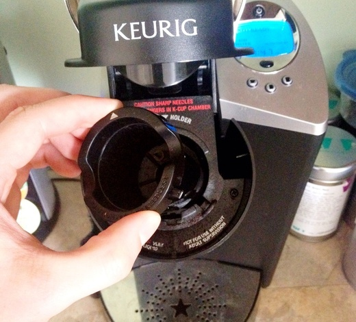 how to clean keurig with white vinegar