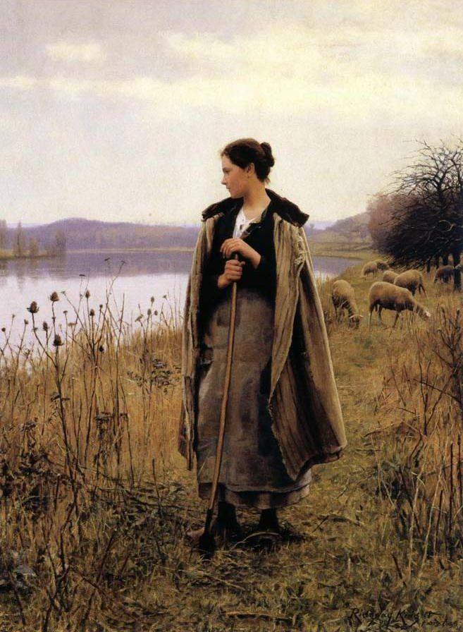 Daniel Ridgeway Knight, The Shepherdess