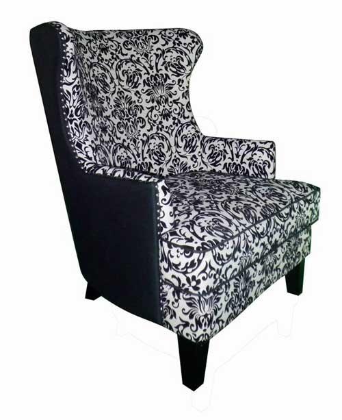 Bernini Black Chair