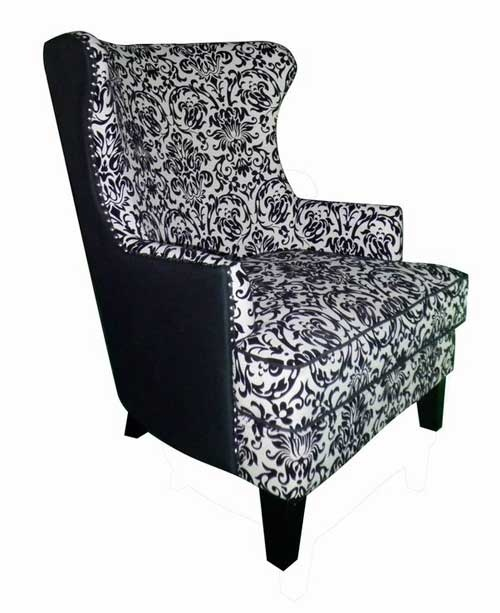Bernini Black Chair