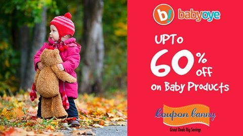 Eoss - Upto 60% off on #Baby Products at #babyoye! Claim Now : http://www.couponcanny.in/babyoye-coupons/