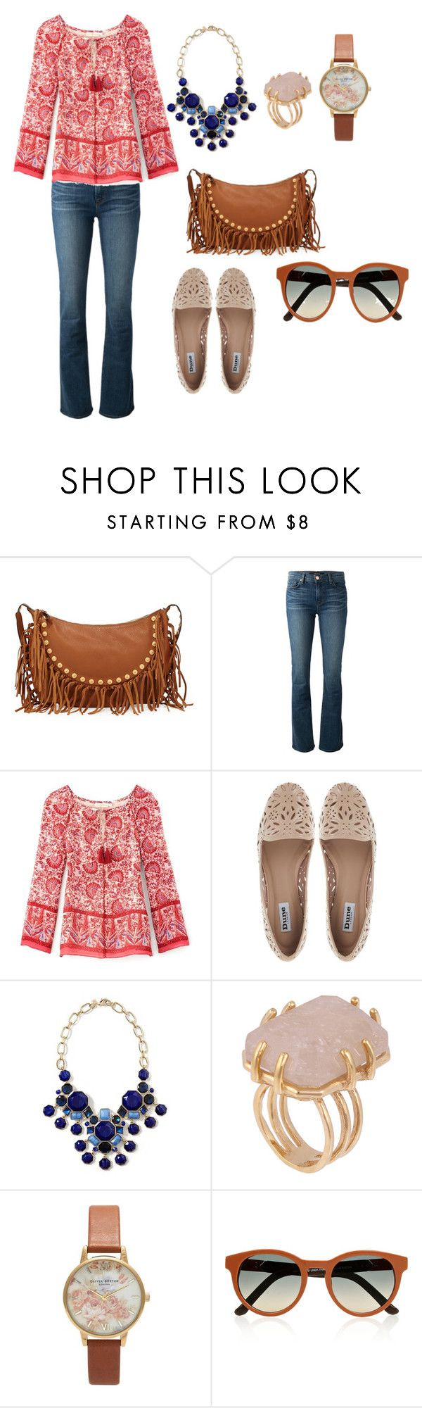 Hippie by Jeny by jenifer-mendes on Polyvore featuring Tory Burch, J Brand, Dune, Valentino, Banana Republic, Olivia Burton, Kelly Wearstler and The Row
