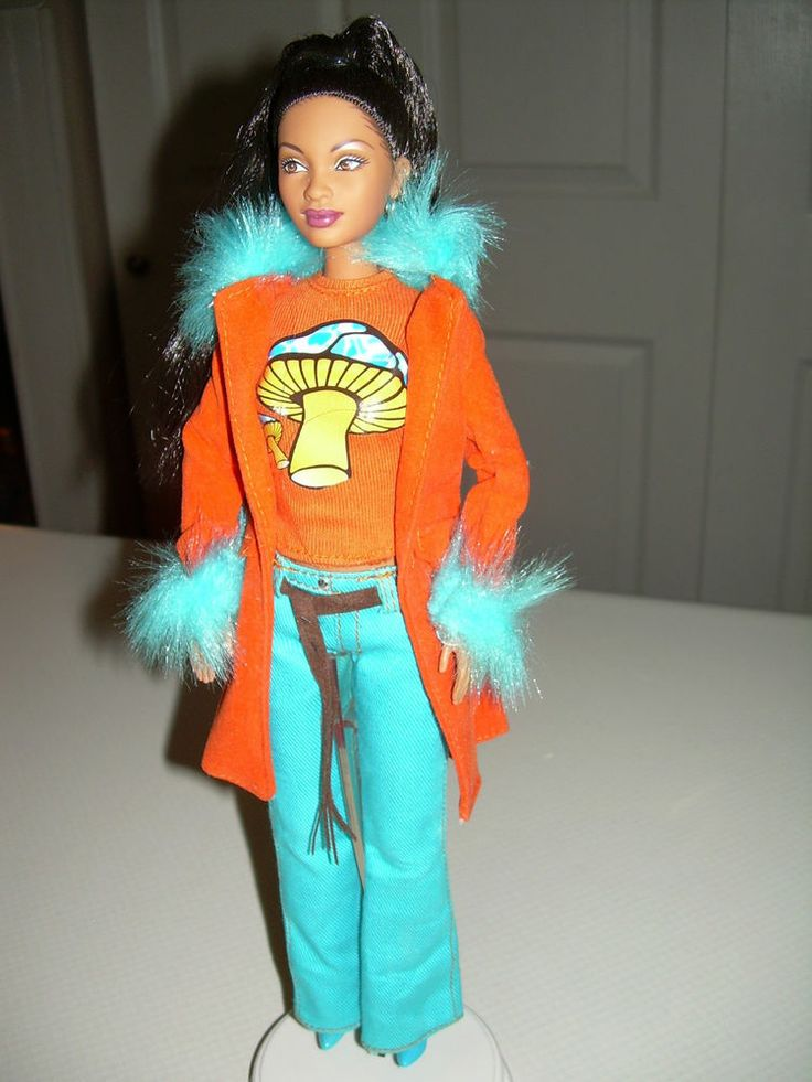 Celebrity Doll That's So Raven Symone Barbie AA African ...