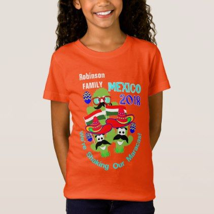 c93c5069 Mexico 2018 Family Group Vacation Fun Personalized T-Shirt - fun gifts  funny diy customize personal