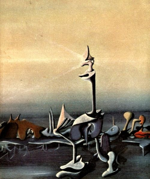 a biography of yves tanguy a french surrealist painter French-born painter who became an american citizen in 1948 whilst working at various odd jobs in paris he began sketching café scenes that were praised by vlaminck, and in 1923 he decided to take up art seriously after being greatly impressed by the work of de chirico he had no formal artistic training.
