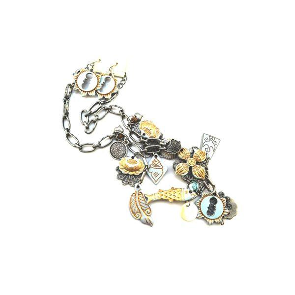 Retro Style Pendants Alloy Designer Necklace