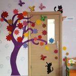 Sınıf Kapı Süsleme Örnekleri 1