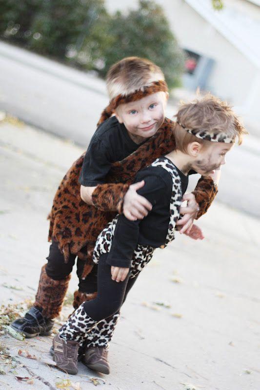 The Train To Crazy: Handmade Costume Series: DIY Caveman Costume Tutorial