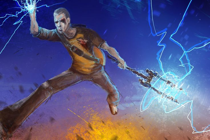Fan Art Friday – inFamous 2