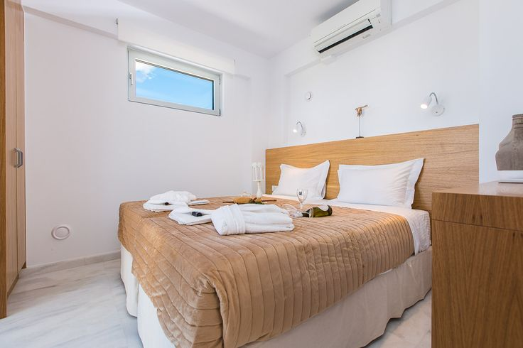 www.thalasses.com Thalasses Villas , Villa Eeanthe in Pigianos Kampos, Rethymno, Crete, Greece #vacation_rental #thalasses_villas #4_luxurious_villas #villa_Eeanthe #luxurious_accommodation #summer_holidays #privacy #summer_in_crete #Visit_Greece #indoors #bedroom