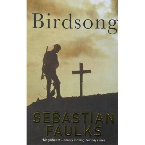 Set before and during the great war, Birdsong captures the drama of that era on both a national and a personal scale. It is the story of Stephen, a young Englishman, who arrives in Amiens in 1910. Over the course of the novel he suffers a series of traumatic experiences, from the clandestine love affair that tears apart the family with whom he lives, to the unprecedented experiences of the war itself. See if it is available: http://www.library.cbhs.school.nz/oliver/libraryHome.do