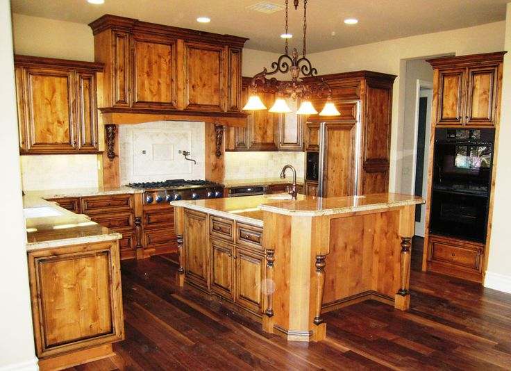 Shaker Style Knotty Alder Cabinets Home About Remodeling